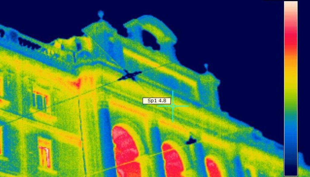 la termografia edilizia